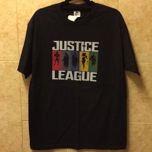 ALSTYLE size large color black Justice League